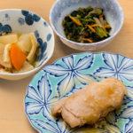 お食事(鶏肉の照焼き)