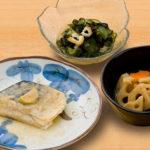 お食事(さばの味噌煮)