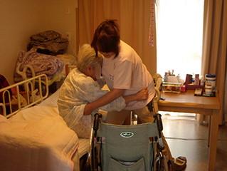 訪問介護の様子