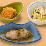お食事(鶏肉のさっぱり煮)